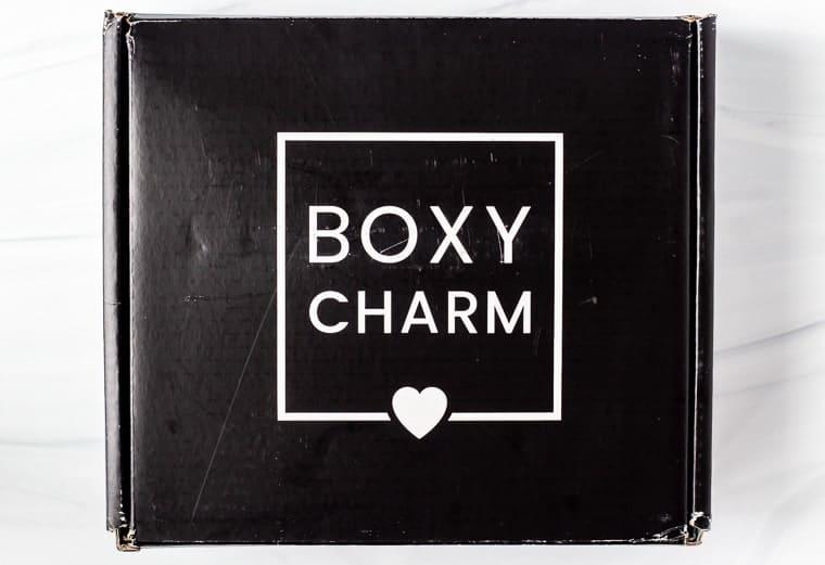 June 2020 Boxy Charm Premium Box on a white background