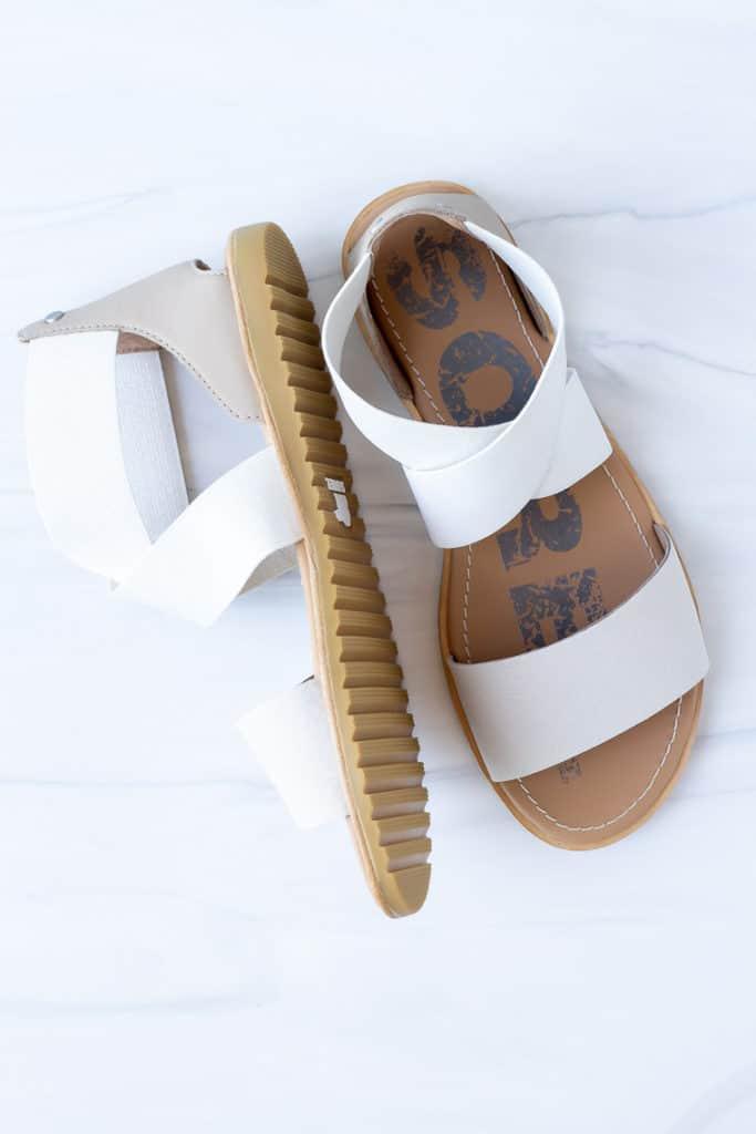 Sorel Ella Sandals on a white background