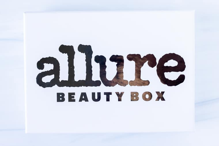 May 2020 Allure Beauty Box on a white background