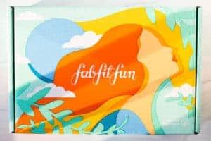 Summer 2020 FabFitFun Box on a white background
