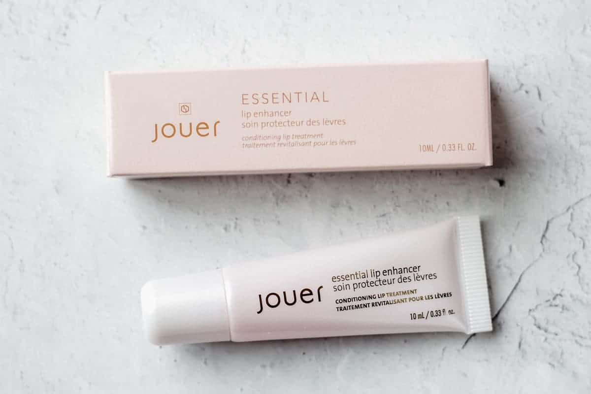 Jouer Lip enhancer tube and box on a white background