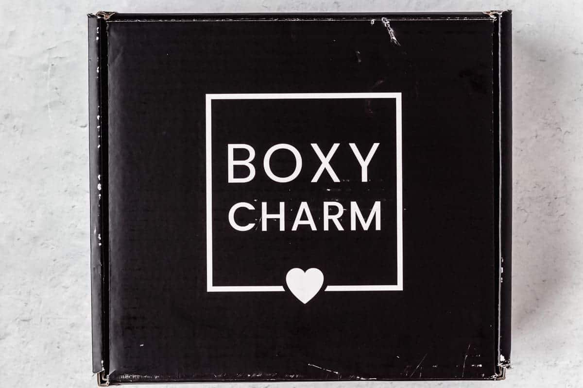 December 2020 Boxycharm Premium box on a white background