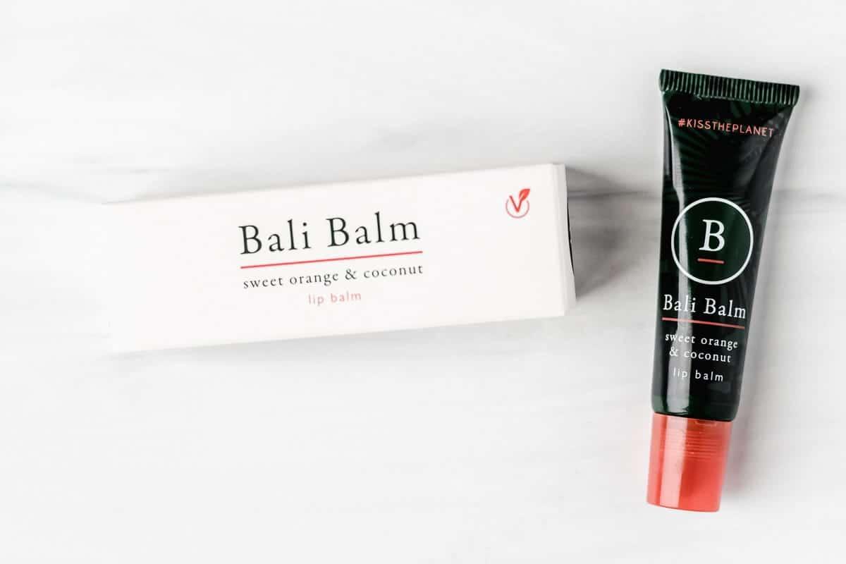 bali balm tube and box on a white background