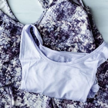 Jessica Simpson Viper Athletic wear collection from March 2021 Ellie on a white background