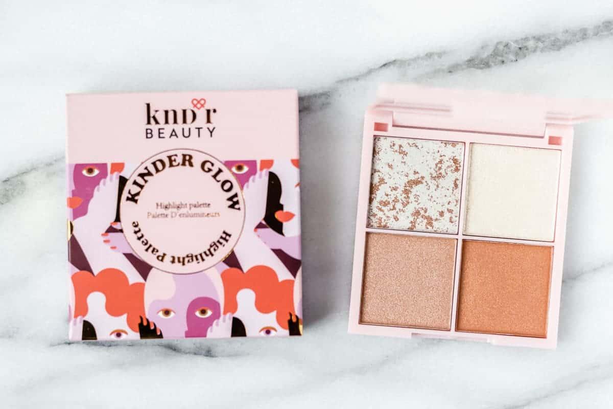 Kndr Beauty Kinder Glow Highlighter Palette