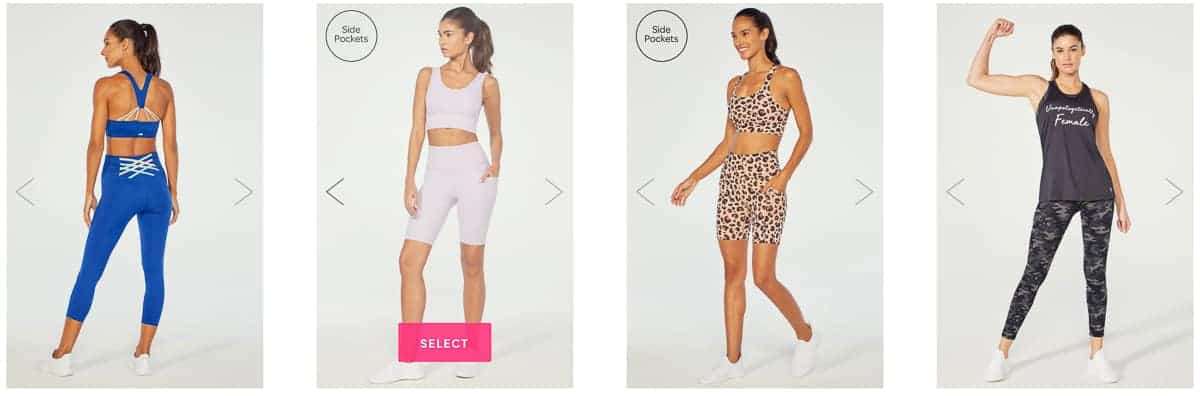 4 Ellie activewear choices for June 2021