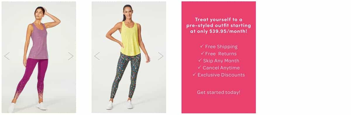 2 Ellie activewear choices for June 2021