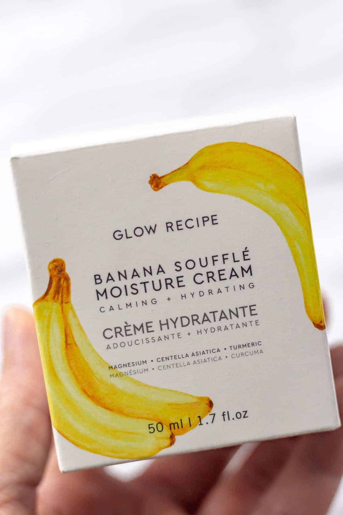 Glow Recipe Banana Souffle Moisture Cream Box