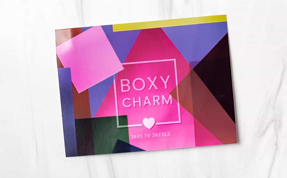 Boxycharm Dare to Dazzle Insert Card