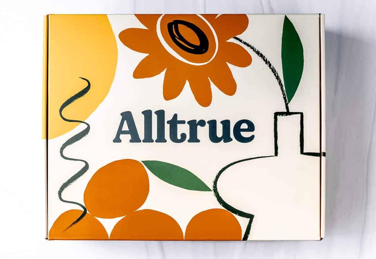 Alltrue summer welcome box on a white background