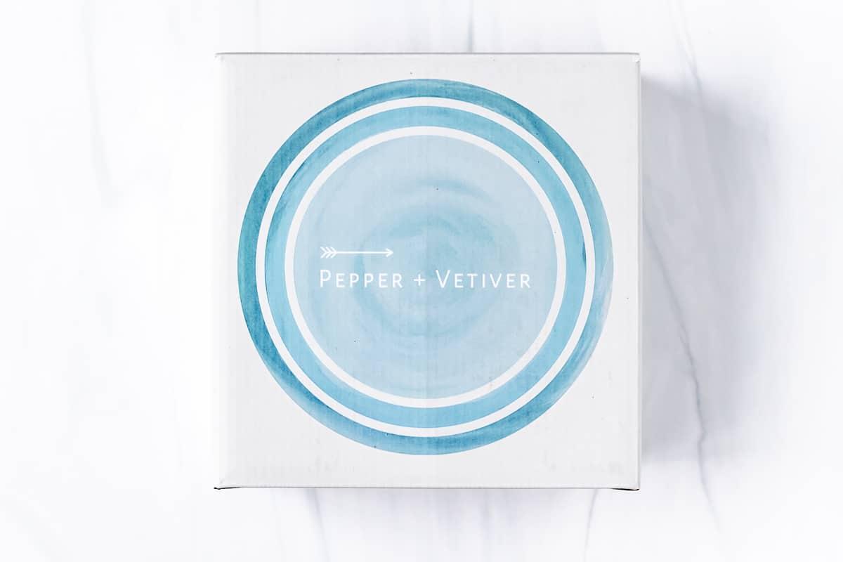 Pepper + Vetiver Set of 3 Nesting Bowls box