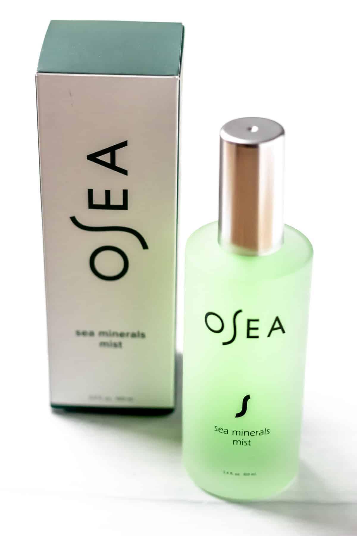 OSEA Malibu Sea Mineral Mist bottle and box on a white background