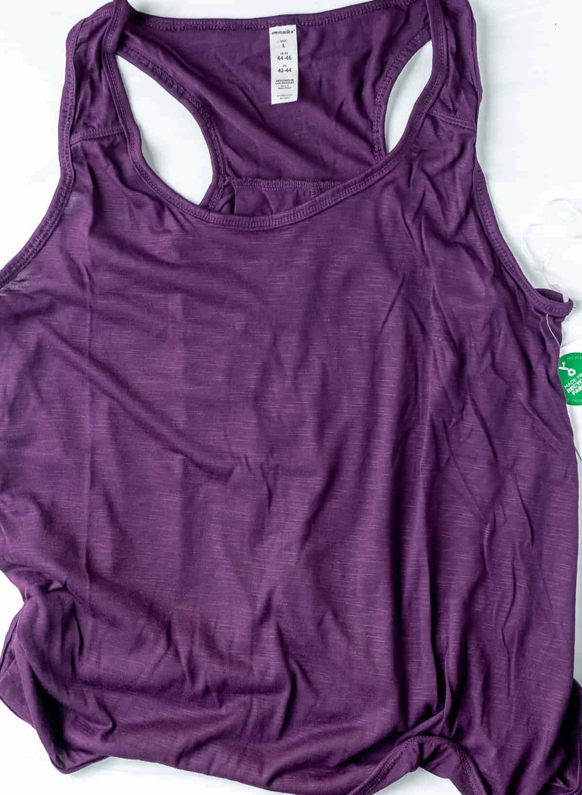 Marika Wynn Tank in Potent Purple