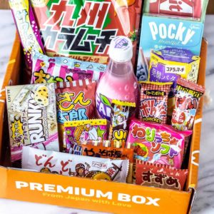 All of the snacks in the November 2021 TokyoTreat box.